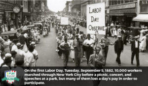 First Ever Labor Day