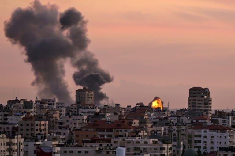 IDF Bombs Hamas Target In Response To Rocket Attack