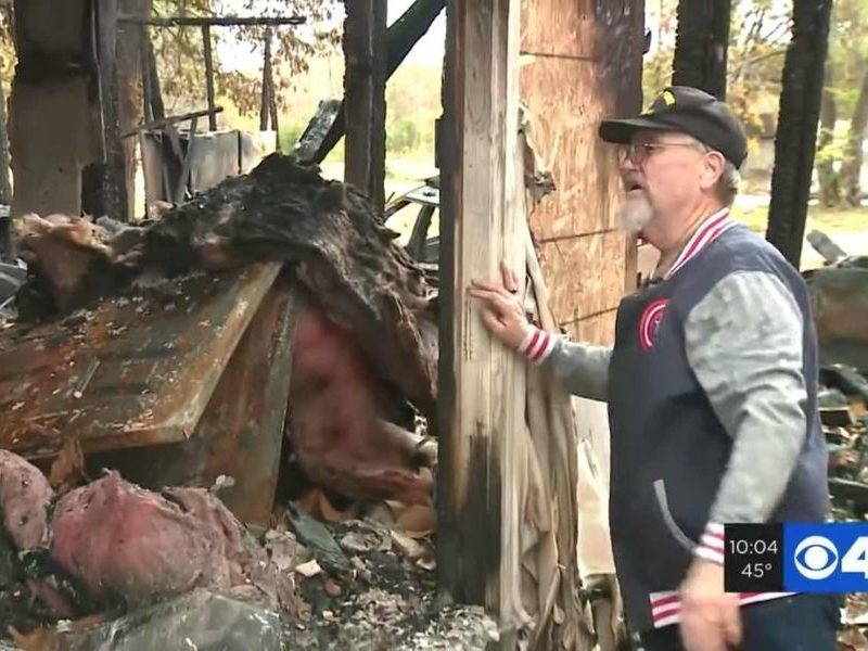70-Year-Old Cancer Patient Risks His Life To Save A Couple Inside Their Burning Home