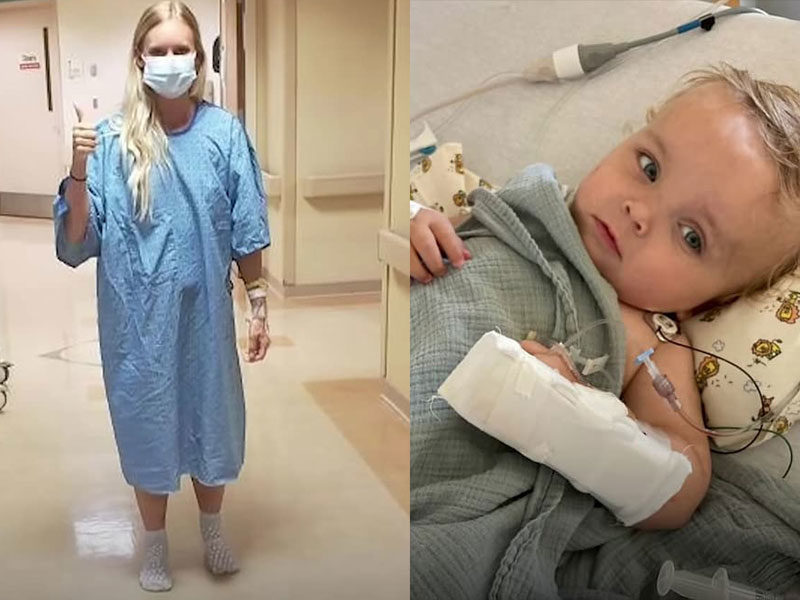 Nurse Selflessly Donates Her Kidney To 18-Month-Old Baby With Kidney Disease