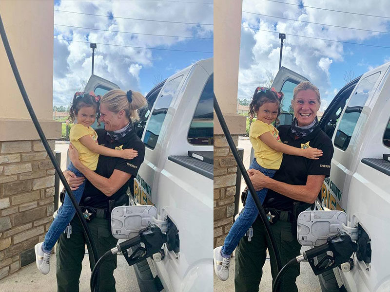"""5-Year-Old Leaves Police Officer In Tears: """"God Reminded Me…"""""""