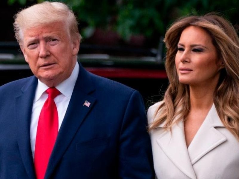 Prayers For President Donald Trump And First Lady As They Test Positive For COVID-19