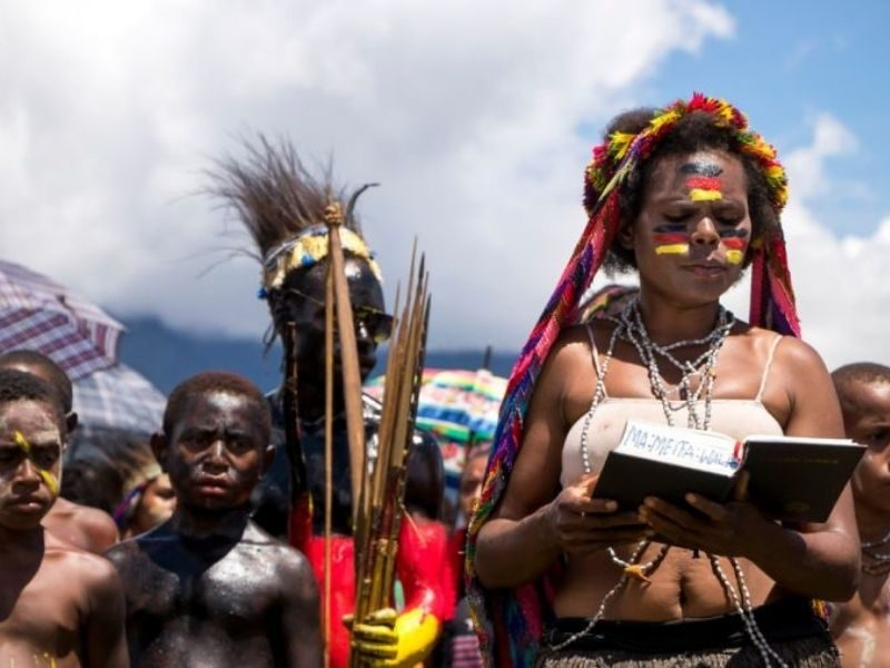 Remote Tribe That Once Killed Missionaries Gladly Receives Bible In Their Own Language