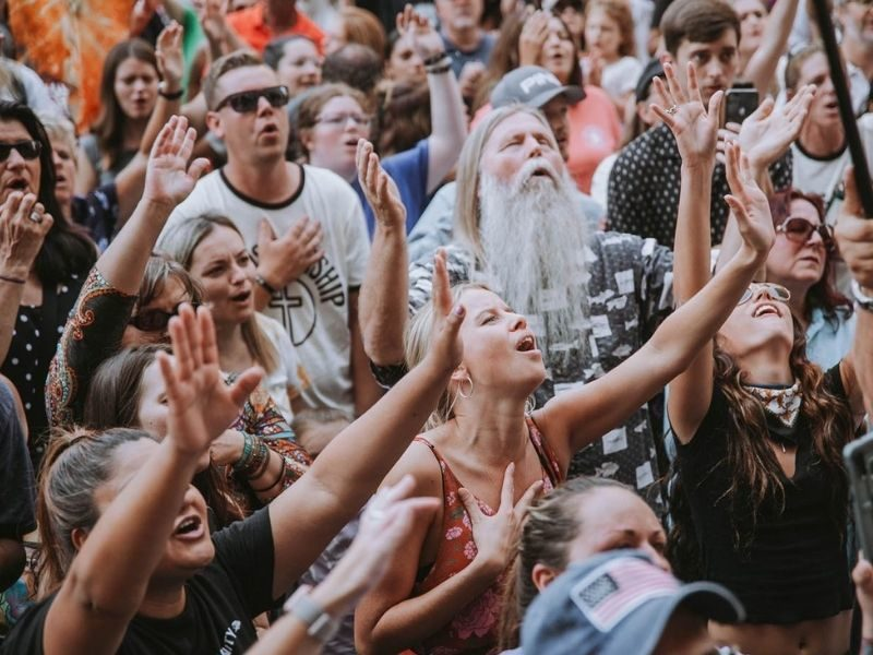 """Thousands Of Christians Worshipped At Dallas Courthouse Where Abortion Law Was Signed; Cries Out For 'Great Reversal"""""""