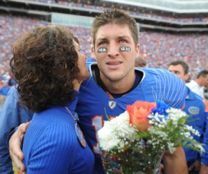 Tim Tebow and mom