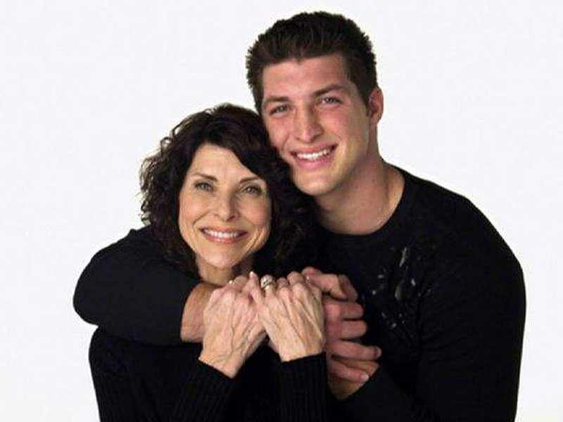 Tim Tebow's Mother Pam Tebow: 'Doctors Told Me To Abort Tim.. But I Chose To Trust God'