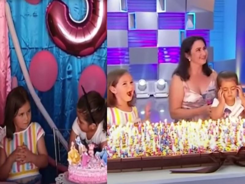 Viral Sisters Who Fought Over Birthday Cake Blow 500 Candles