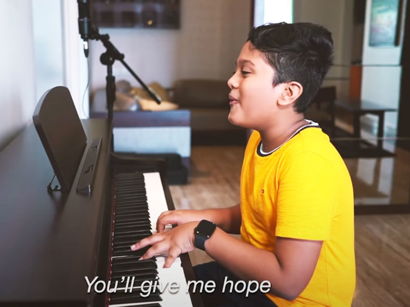 14-Year-Old Offers Tear-Jerking Song To Mothers, 'Mother My Pillar'
