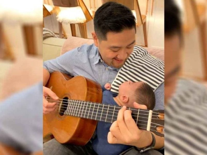 Dad Gave Up Music After Losing First Child, But Now Plays Guitar For Miracle Baby