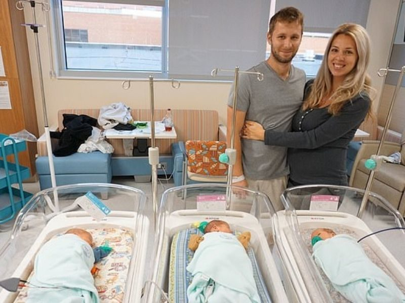 Parents Welcome 'Miracle' Triplets After Experiencing Tragic Losses Of 4 Babies In Over 2 Years