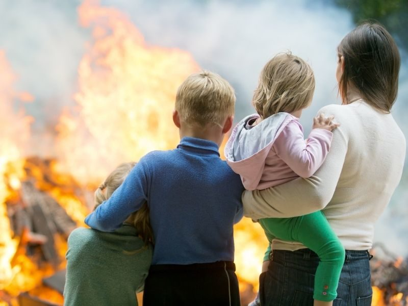 7-Year-Old Saves Toddler Sister Trapped In Burning Home After God Woke Their Mother