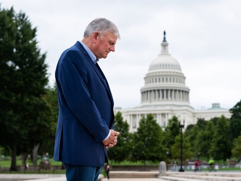 Franklin Graham Reports 1.7 Million People Indicated They Made A Decision For Christ