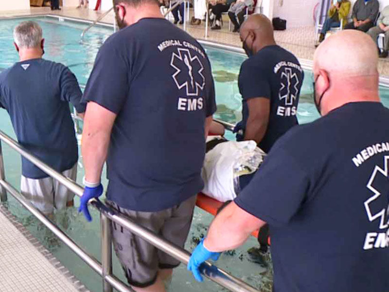 Man Paralyzed For 15 Years Fulfills Desire To Be Baptized