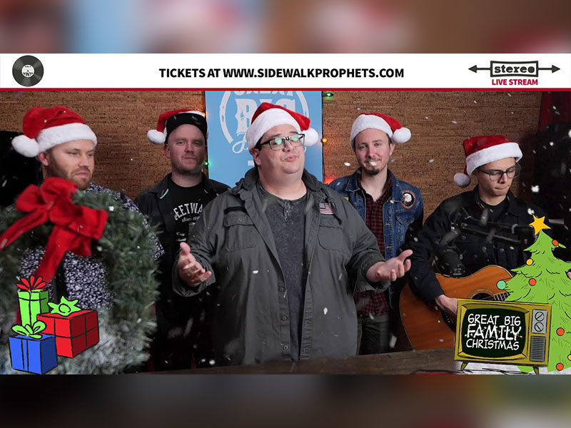 Sidewalk Prophets Virtual Christmas Tour To Raise Funds For COVID Orphans