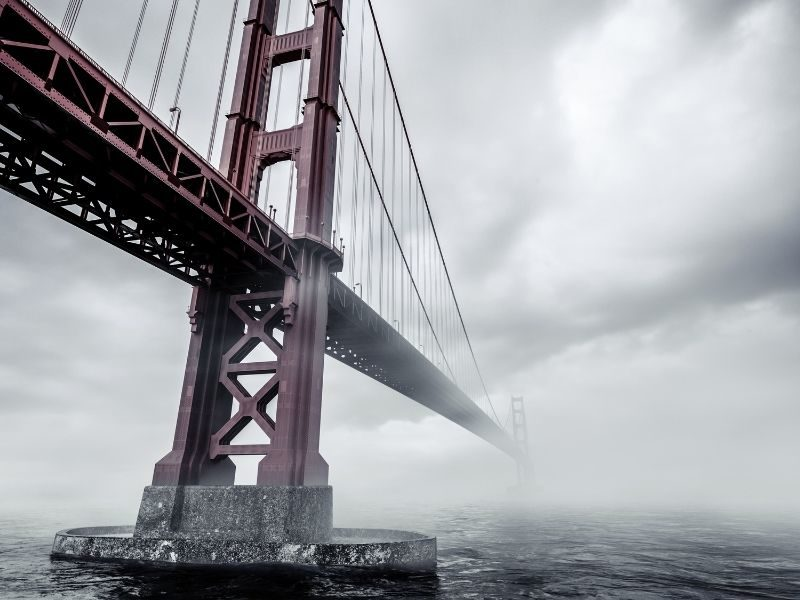 Man Goes To Jumping Off The Golden Gate Bridge But God Miraculously Intervenes