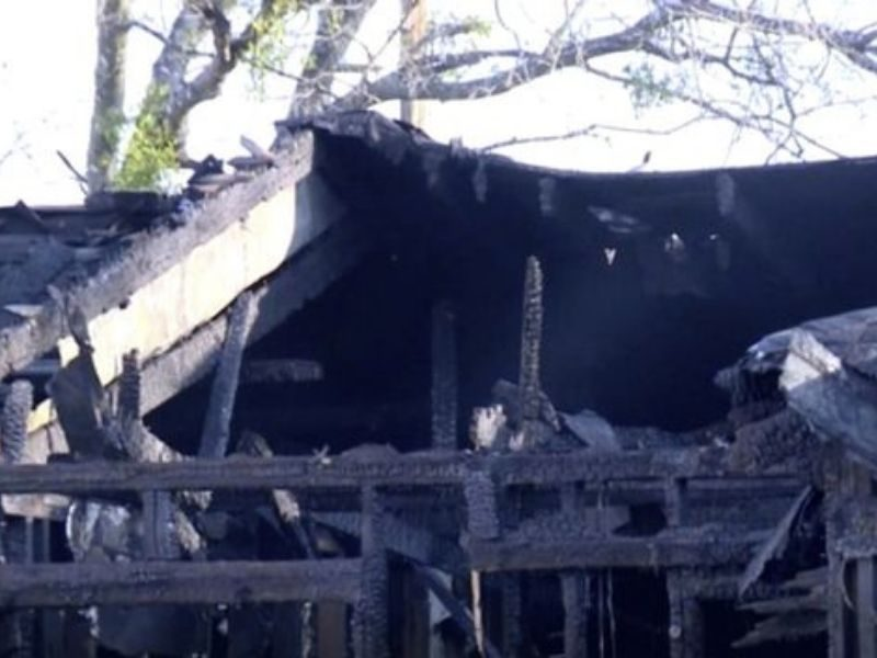 COVID-Infected Family Rescued From Burning House By Brave Teen