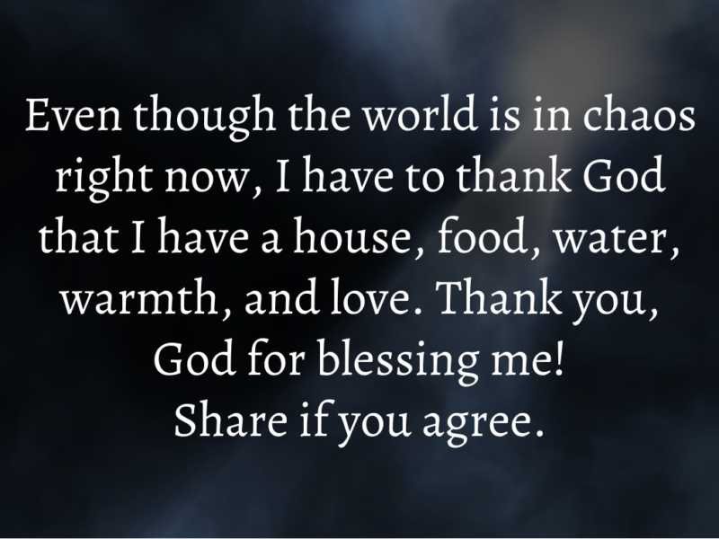 God's Word For You Today: Be Content With What You Have