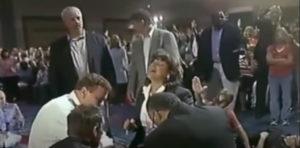 woman on wheelchair healed