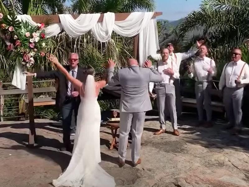 Holy Spirit Took Over A Wedding