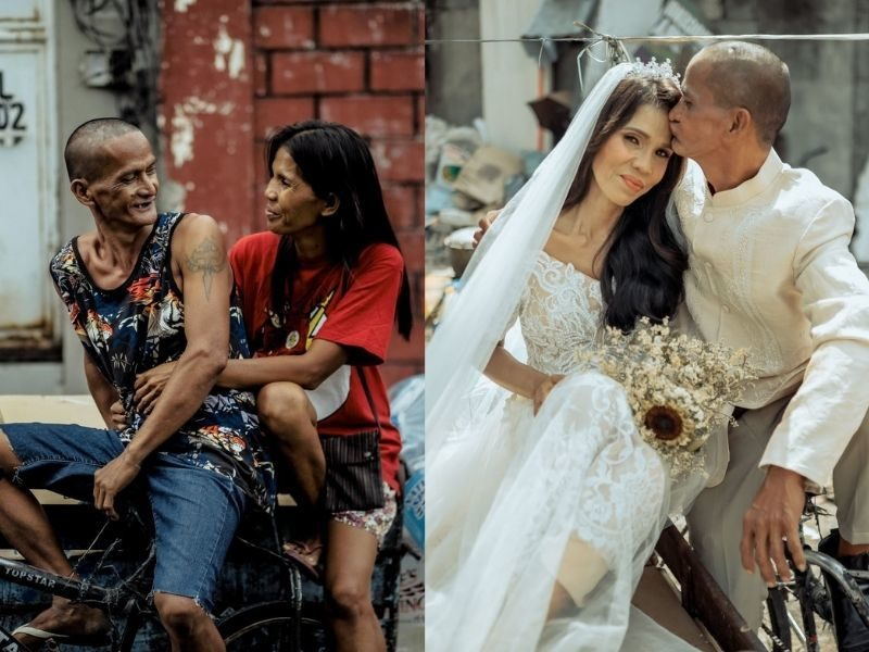 Amazing Transformation Of Homeless Couple Who Were Given Free Wedding Makeover