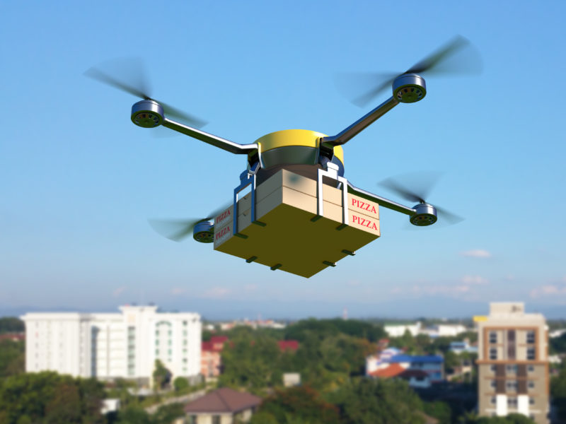 Pizza Drone Delivery? Israel to Give it a Test Flight This Summer