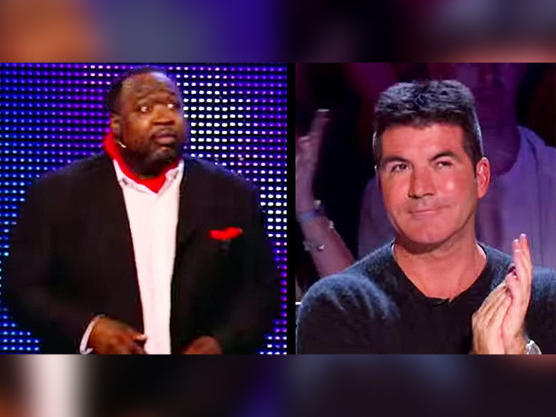 Simon Cowell Eats His Words After Making Fun of Gospel Singer