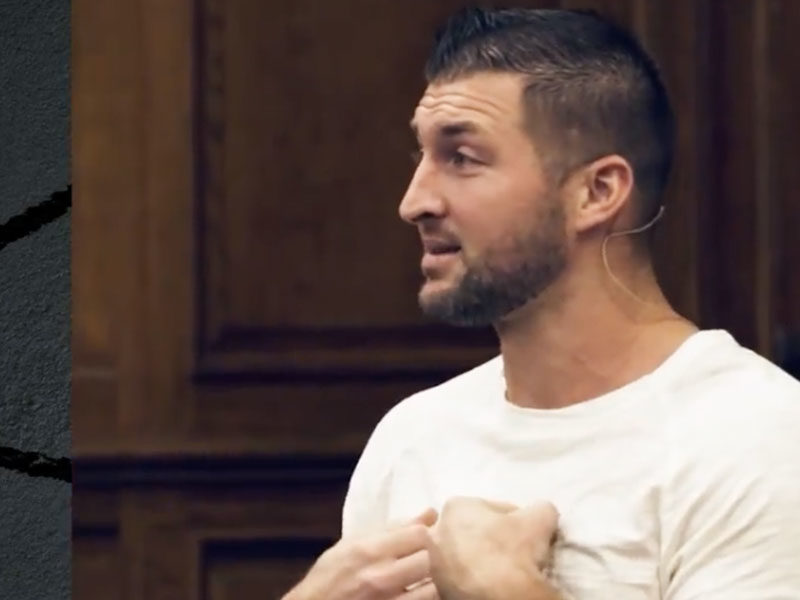 Tim Tebow Urges Christians To Stand Up For Biblical Principles In America