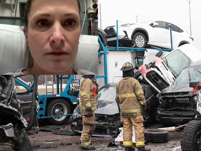 Nurse Left 100 Car Pile-Up Accident In Texas Unharmed