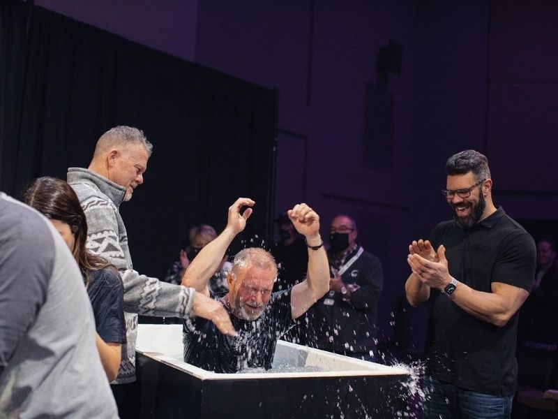 Tennessee Church Baptizes Over 1,000 People In Less Than Four Months