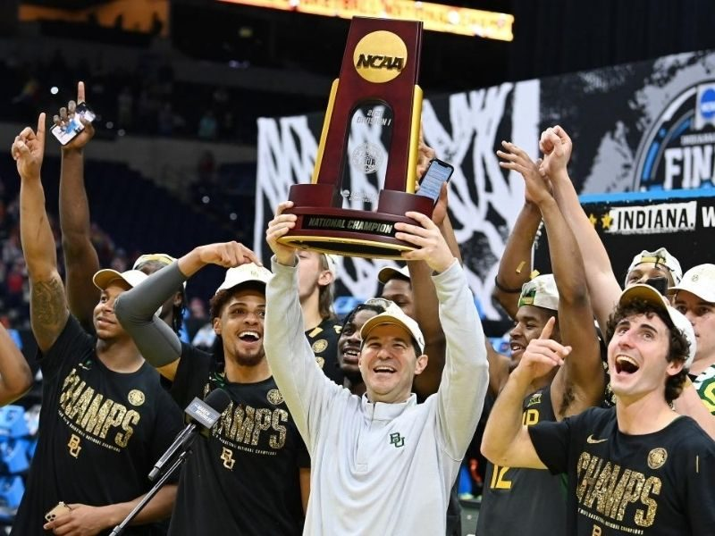 Baylor Basketball Coach Shares How 'Christ-Centered Program' Helped Them Win First Championship