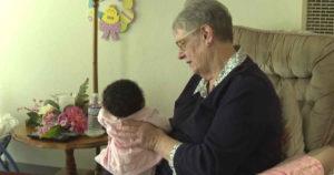 Resource parent fostering babies
