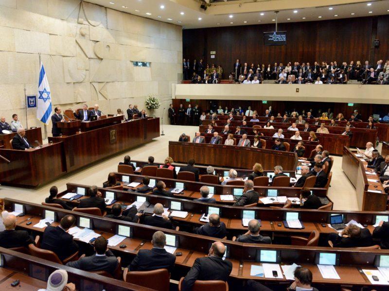 President Tasks Netanyahu with Forming Next Govt.