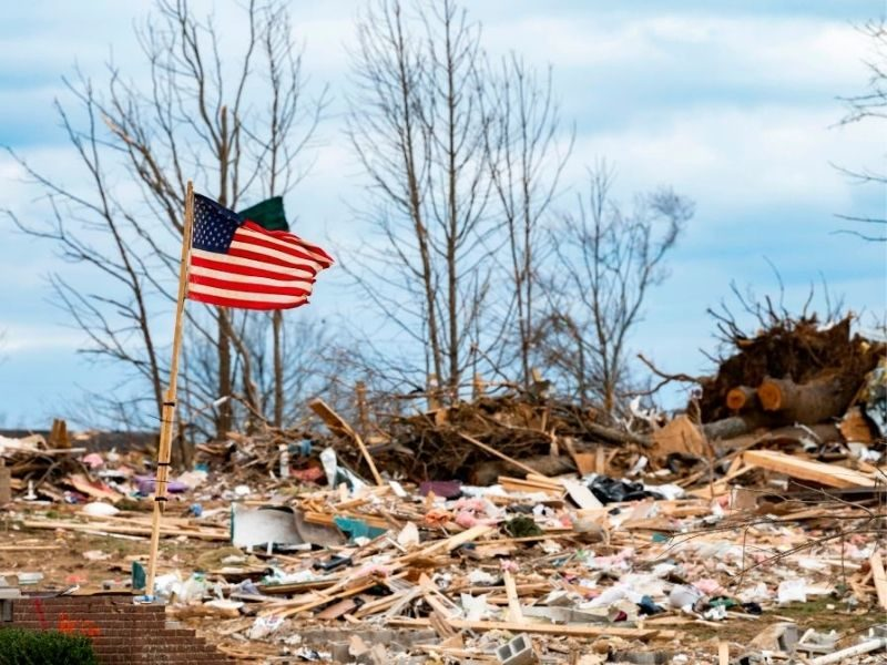 """After This Woman Prayed """"Nothing Was Touched"""" During Tornado Storm"""