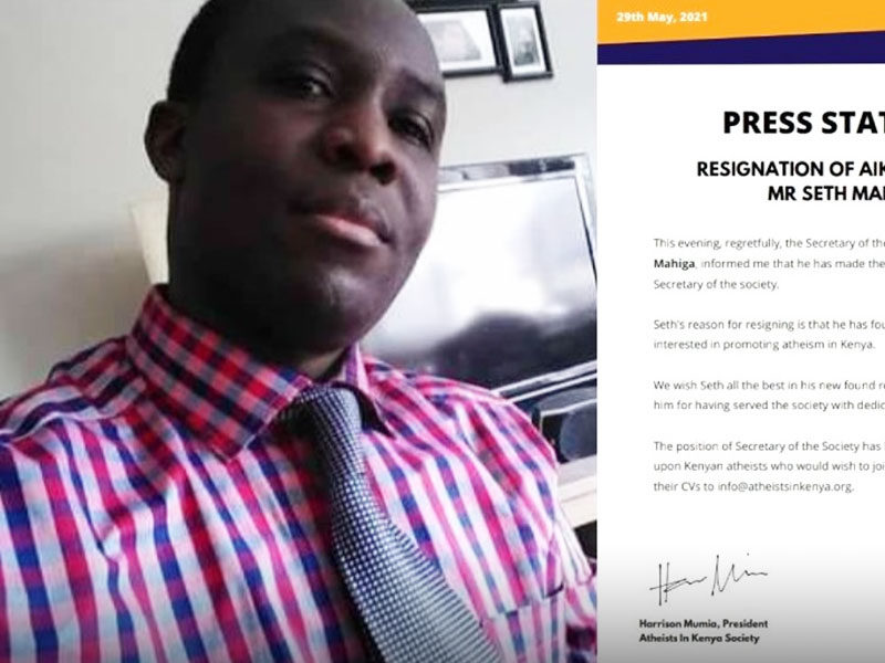 Atheist Top Leader In Kenya Resigns Because He Has Found Jesus Christ