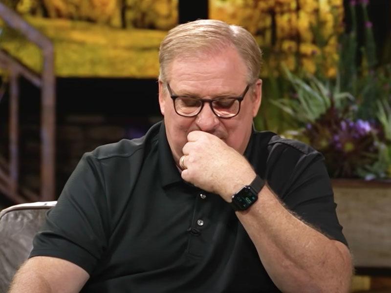 Rick Warren Talks About Surviving The Pain After Son Commits Suicide