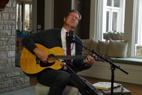 Ben Ferrel Sings Songs Of Hope For Those Battling With Anxiety & Depression