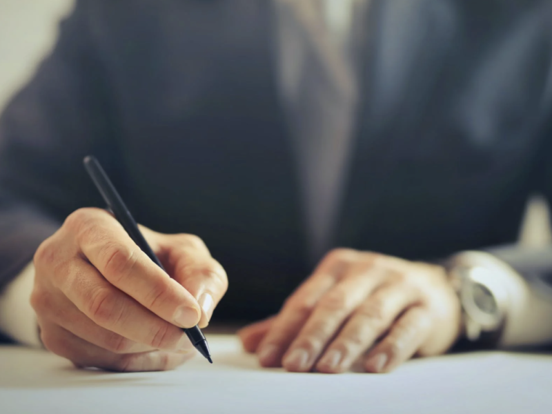 Signing Blank Checks To God