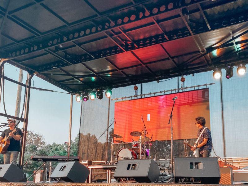 Sanctus Real Kicks off Country Fair in Small Town Waverly, Iowa