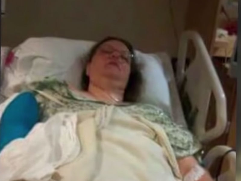 God Visits Her In Hospital Bed And She Stopped Receiving Bone Cancer Treatments
