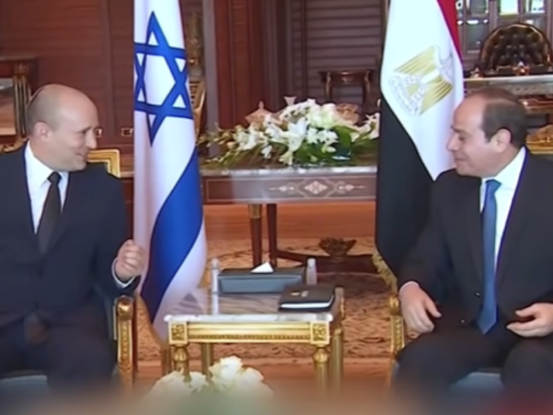 Israeli And Egyptian Heads Of State Meet For The First Time In A Decade